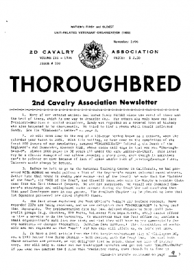 The Thoroughbred_Issue 100_November 1996
