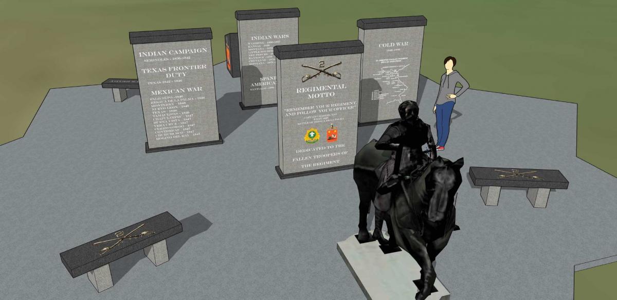 Memorial mockup